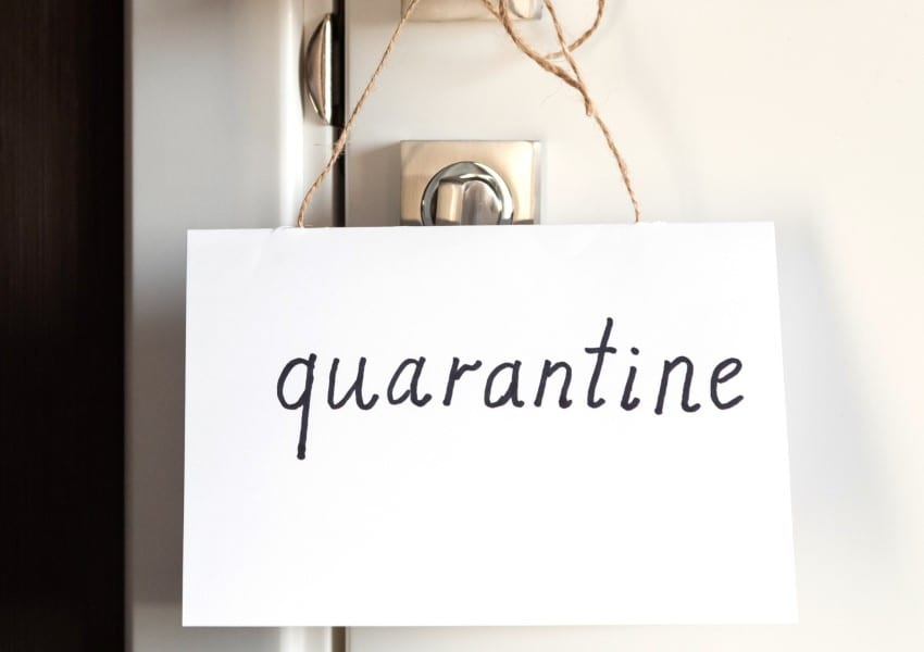 Plan To Use Certain Hotels For Quarantining & Isolation