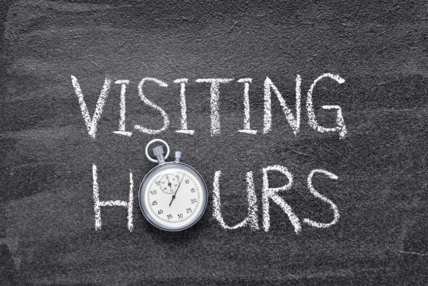 Changes To Visiting Hours At Prison