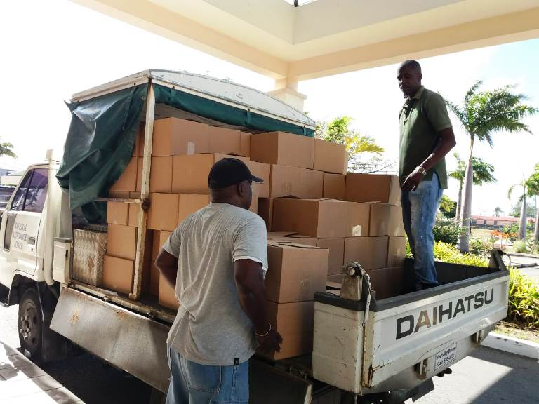 Care Packages Distributed To Vulnerable Groups