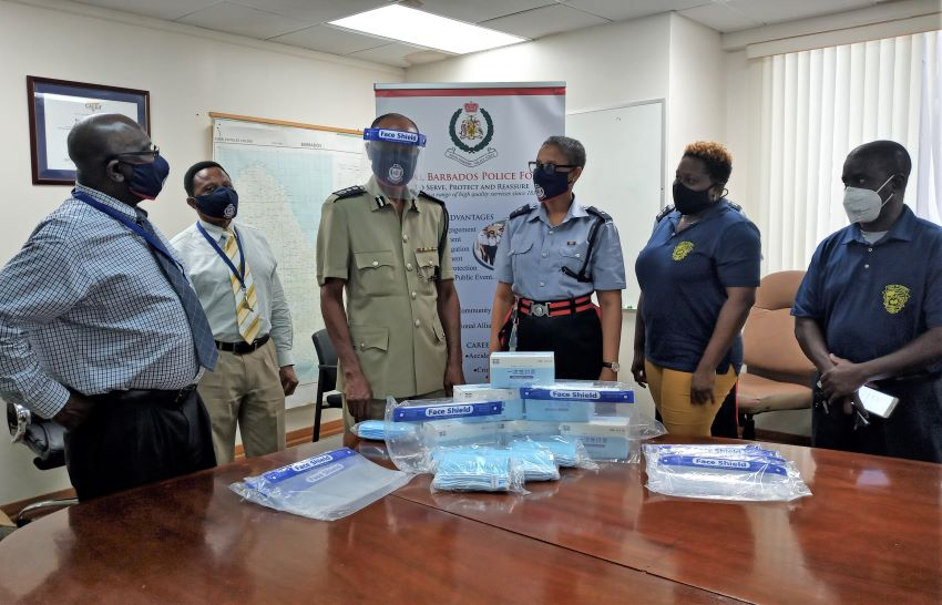 RBPF Receives Face Shields & Masks