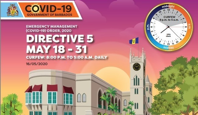 Emergency Management (COVID-19) Order, 2020 Directive 5, May 18 -31
