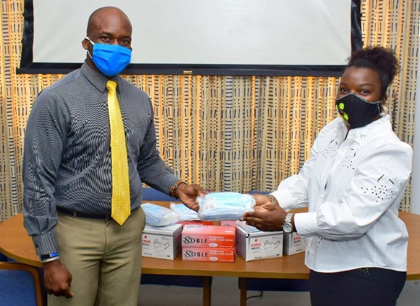 Ministry & Prison Receive Donation Of Masks & Gloves