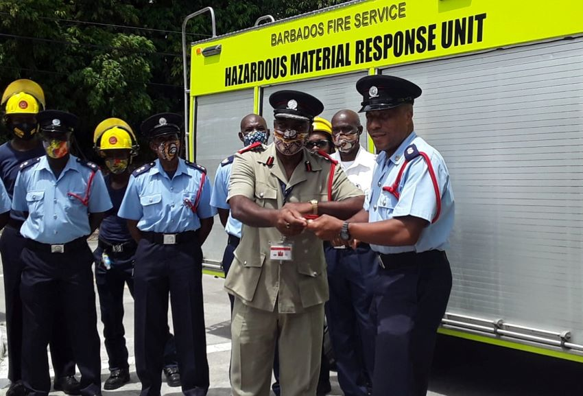 Fire Service Commissions New Equipment
