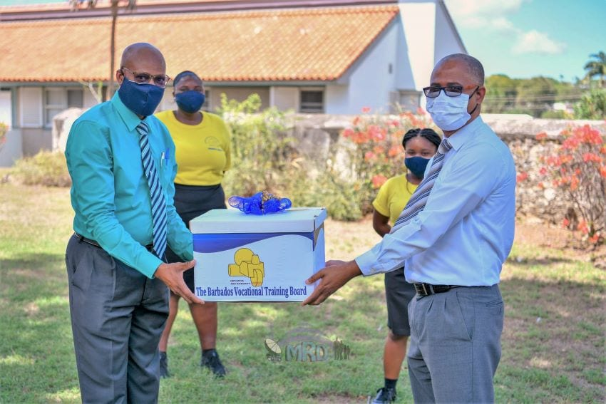 BVTB Donates Masks To Education Ministry
