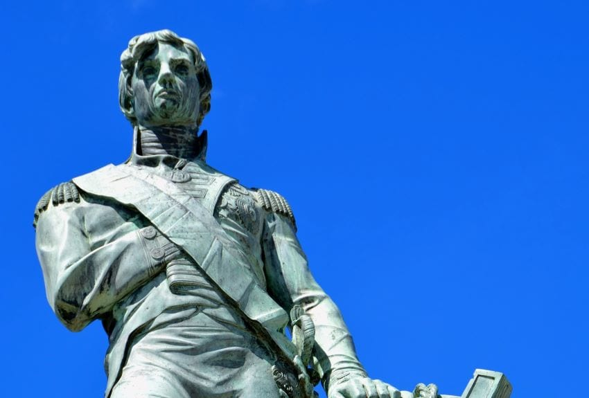 Nelson Statue To Find A New Home