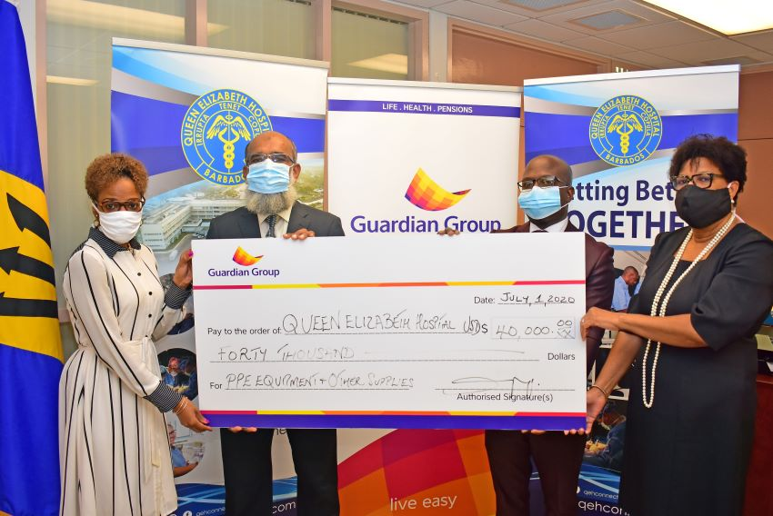 Guardian Life Donates To QEH COVID-19 Response