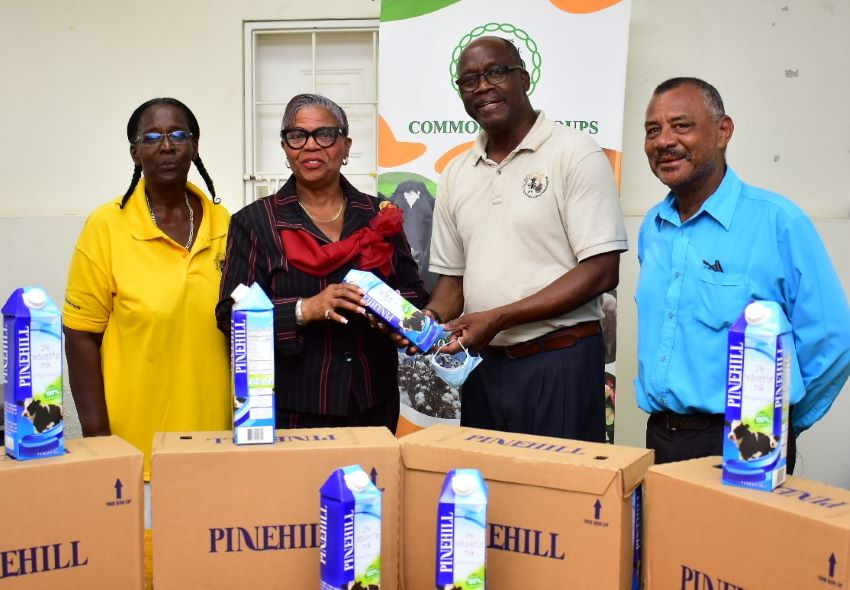Dairy Farmers Donate Milk To Vulnerable Groups