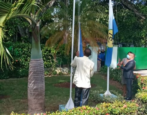 CARICOM Flag Raised At Barbados' Embassy In Cuba