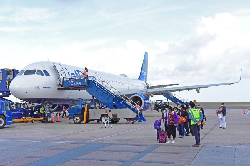 Increased Airlift & Home Porting For Barbados