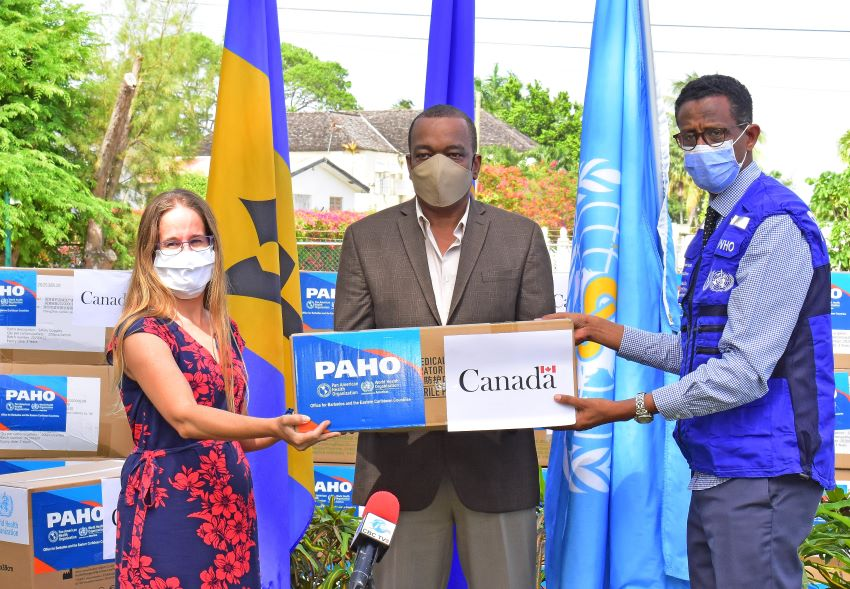 Barbados Receives Further COVID-19 Assistance