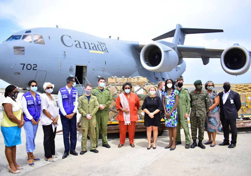 PM Accepts Donation Of COVID-19 Medical Supplies