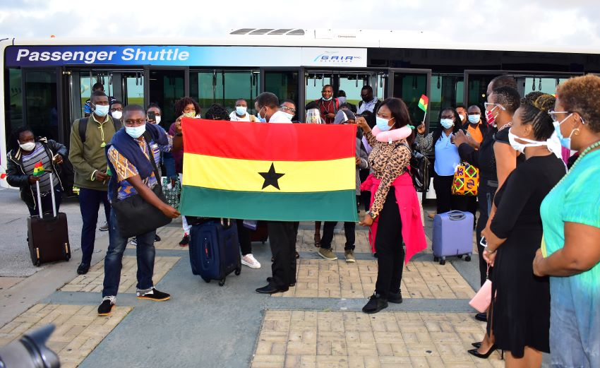 Ghanaian Nurses Arrive In Barbados