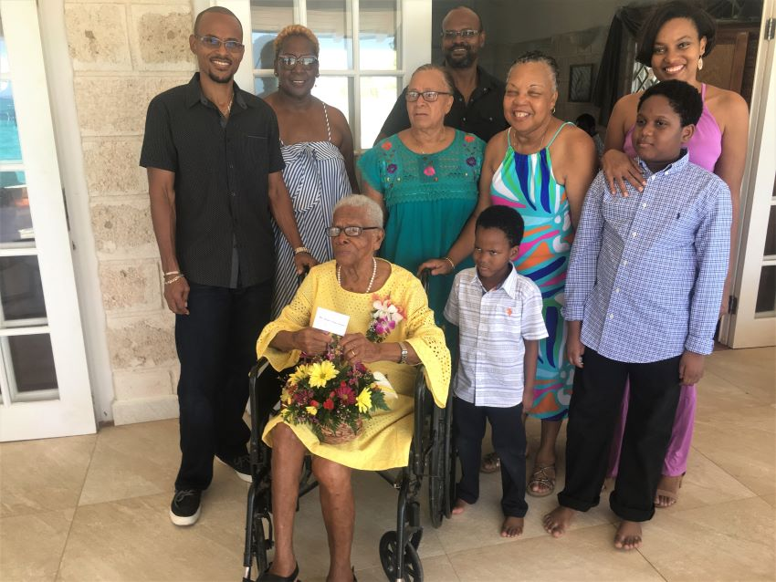 Barbados Newest Centenarian Grateful To God