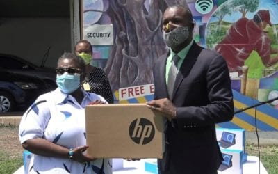 Barbadians Overseas Donate More Devices To Ministry