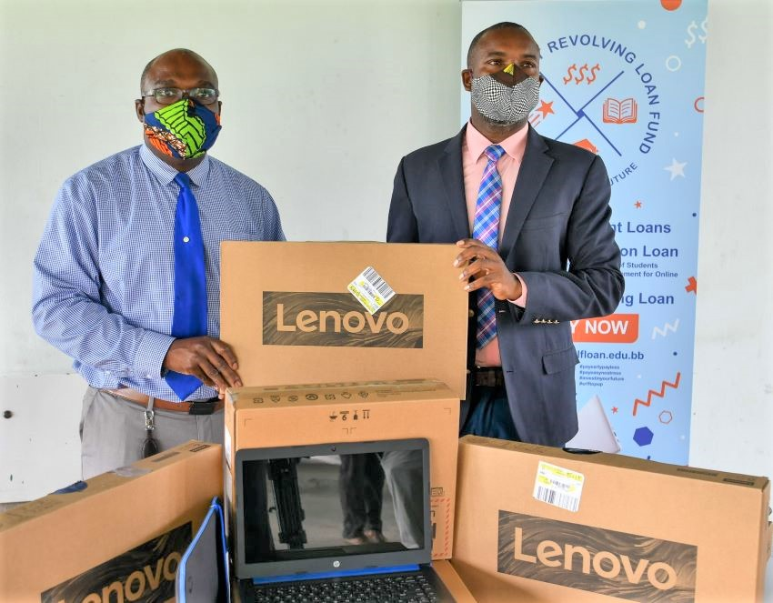 Student Revolving Loan Fund Donates Laptops