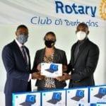 Rotary Club & FirstCaribbean Donate Laptops