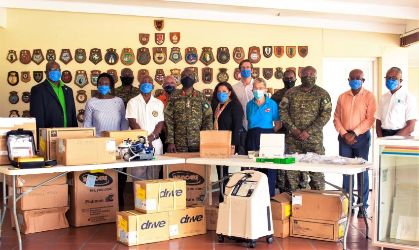 Donation For BDF's Field Medical Facility
