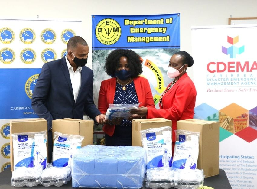 DEM Receives Donation Of PPEs