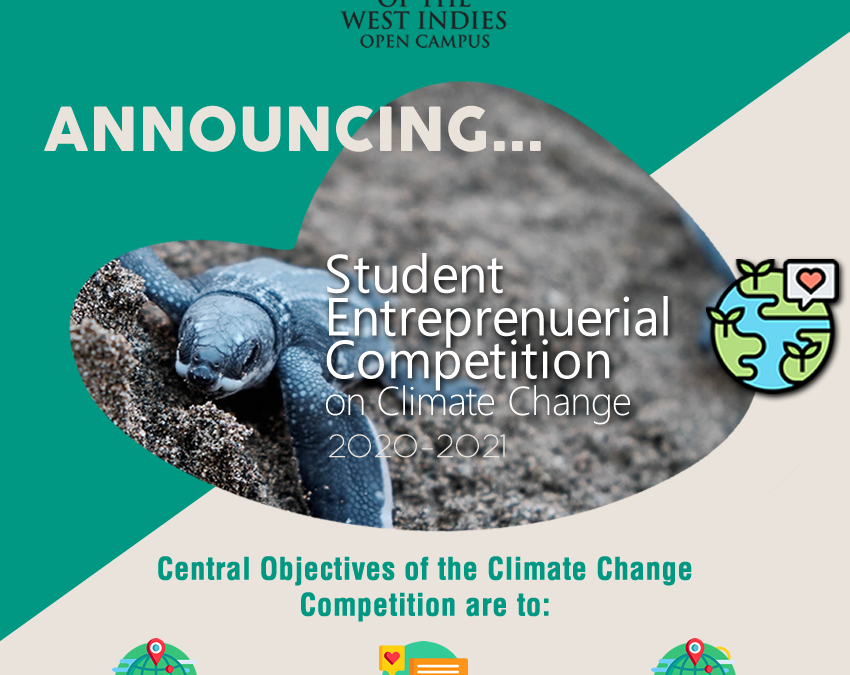 UWI Open Campus Launches Student Entrepreneurial Competition On Climate Change