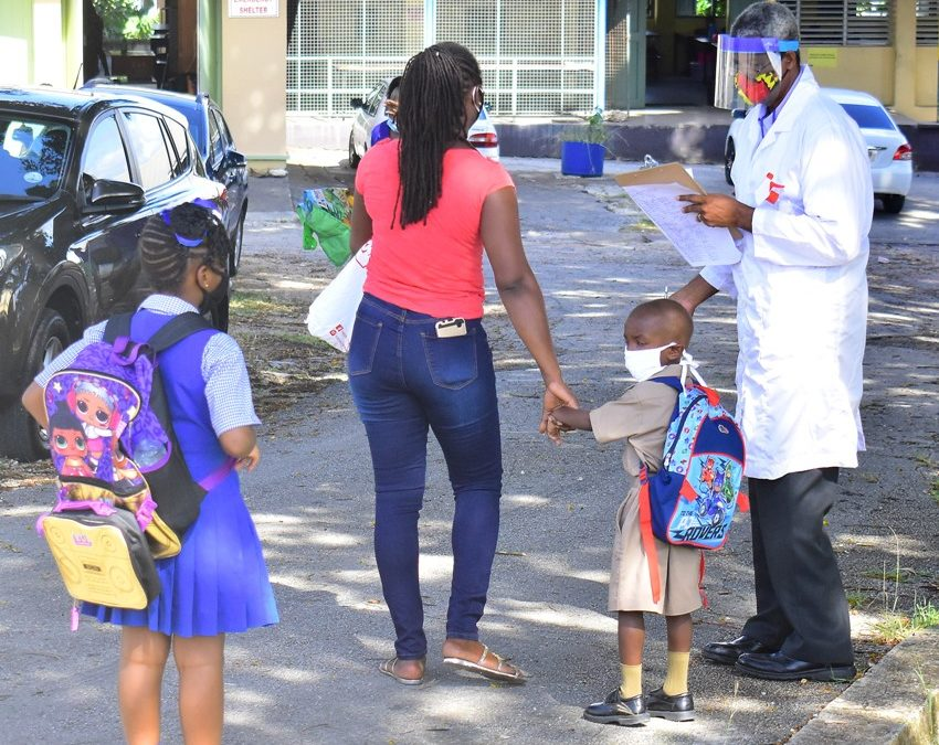 Phased Classroom Return For Students From Tuesday