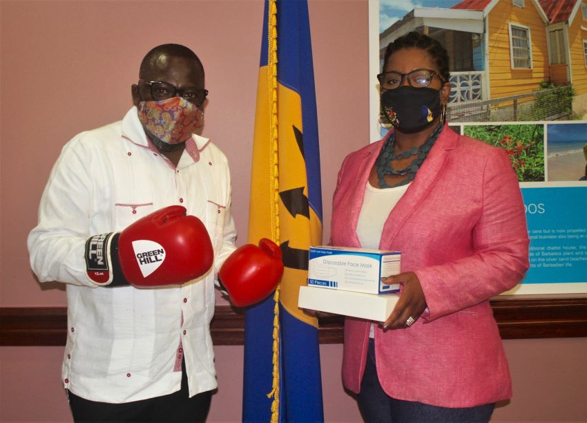 Ministry Receives Donation Of Boxing Equipment
