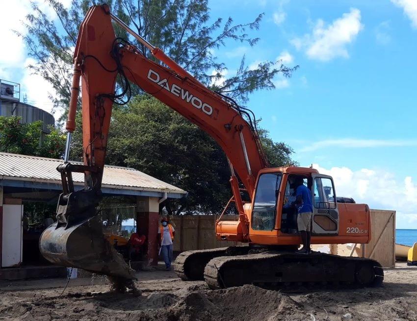 Refurbishment Work Begins At Pile Bay