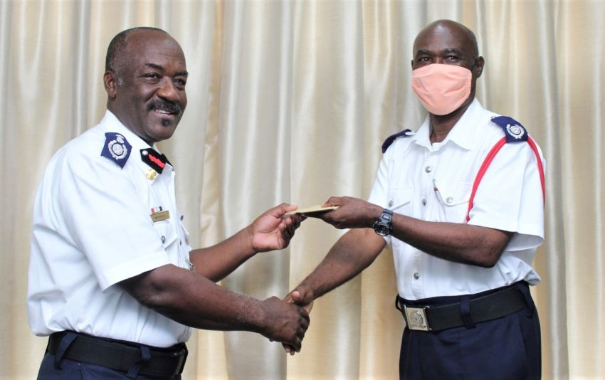 Fire Officers Receive Appointment Letters