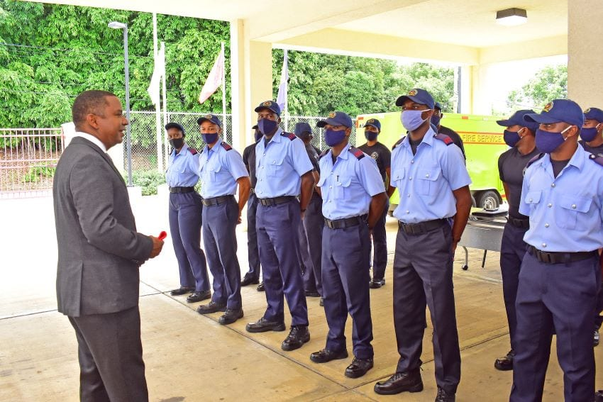 Fire Service Encouraged To Boost Numbers