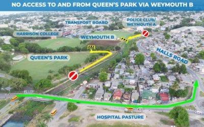 Temporary Closure Of Weymouth B Playing Field