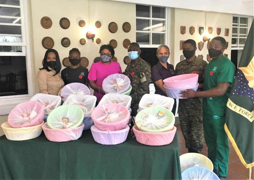 BDF Receives Mental Health Care Packages