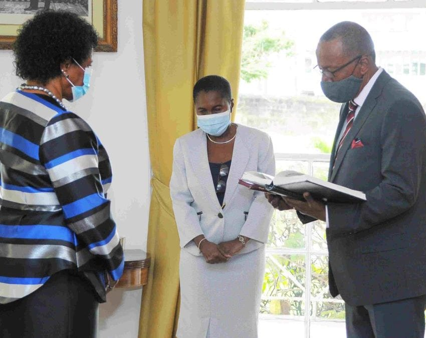 New Chief Justice Sworn In By Governor General
