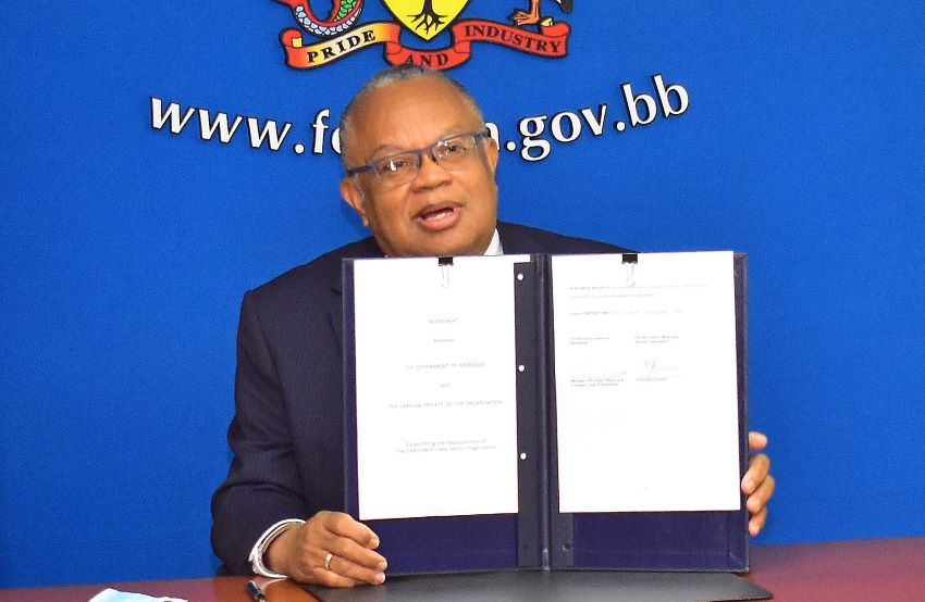 Barbados & CPSO Sign Headquarters Agreement