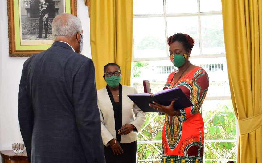 New Parliamentarian Sworn In