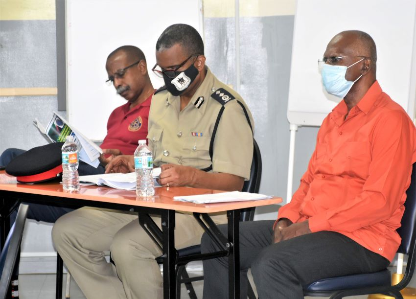 Security Team For UNCTAD 15 Holds Training Exercise