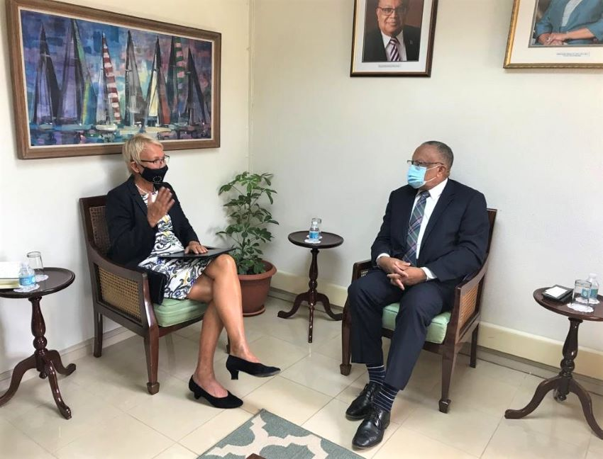 Barbados & EU Discuss Strengthening Relations