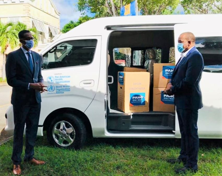 New Vehicle To Assist Ministry's COVID-19 Response