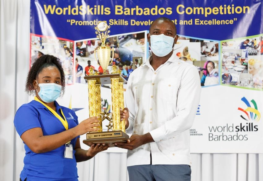 Tonquanja Wins Big At WorldSkills Barbados 2020