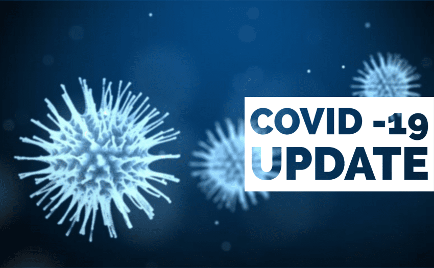 COVID-19 Update:  26 New Cases, 27 Recovered