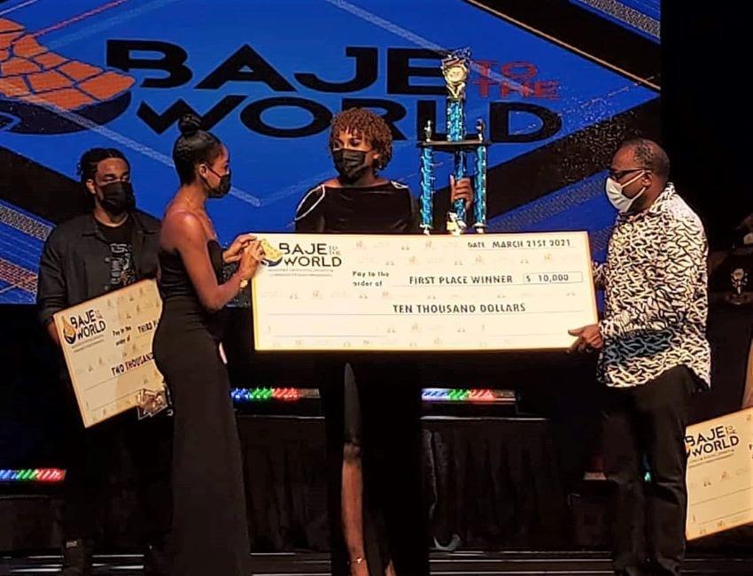 Casheda Dottin Is 'Baje To The World' Inaugural Winner'