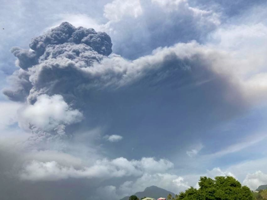 More Eruptions Possible From La Soufriere