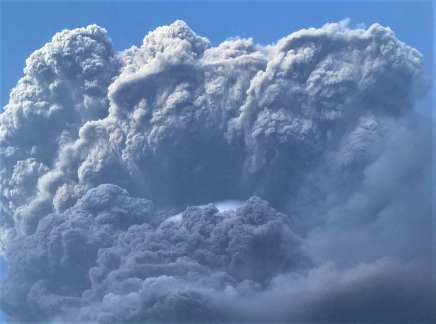 Current Volcano Activity Compares To 1902 Eruption