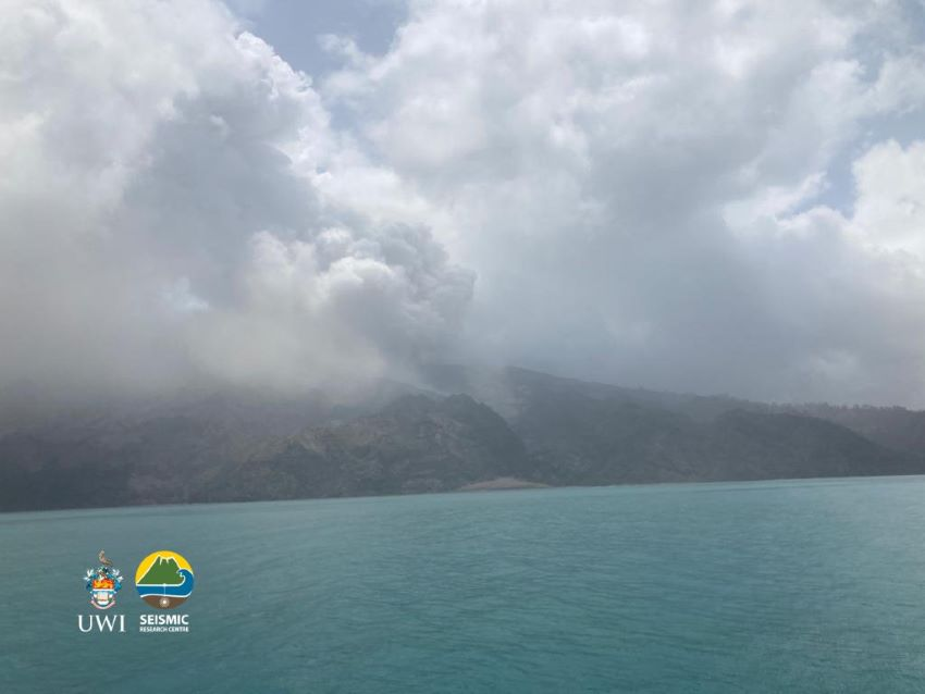 Ash Plumes Could Impact Barbados For Longer Period
