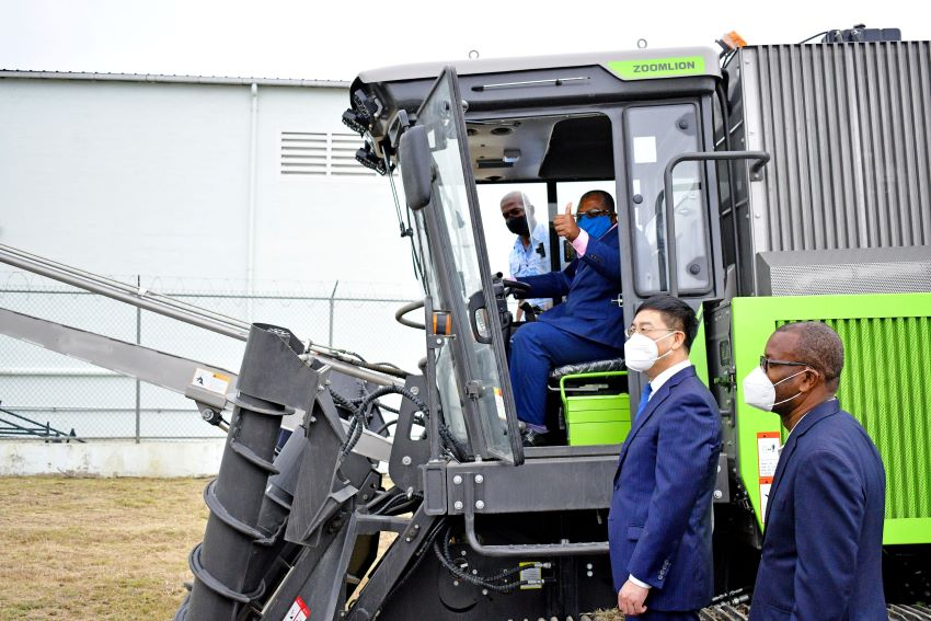 Sugarcane Harvester A Timely Boost