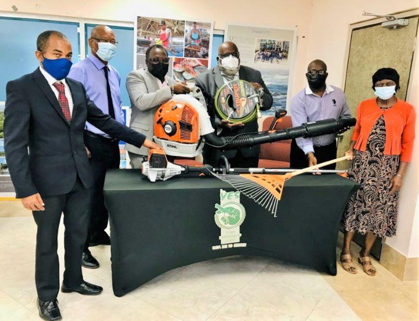 YES Donates Equipment To Prison Fellowship Barbados