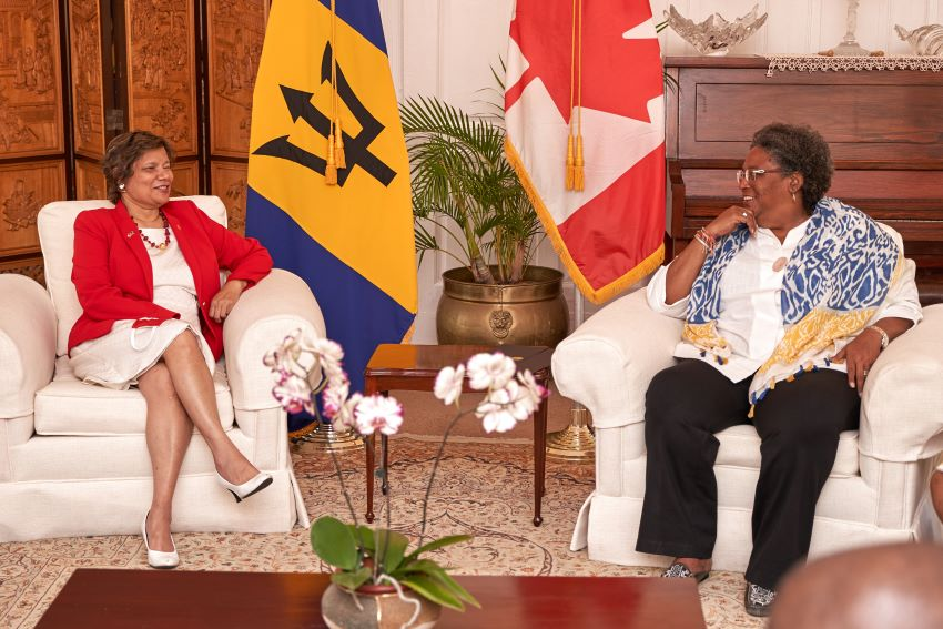 Prime Minister Meets With Canada's High Commissioner