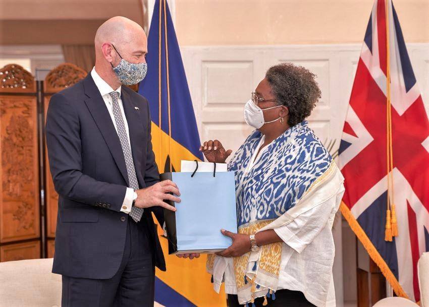 Good Relations Continue Between Barbados & Britain