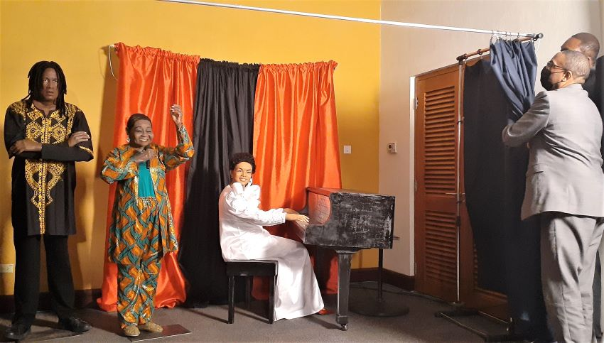 Three Wax Figures Unveiled At The UWI, Cave Hill