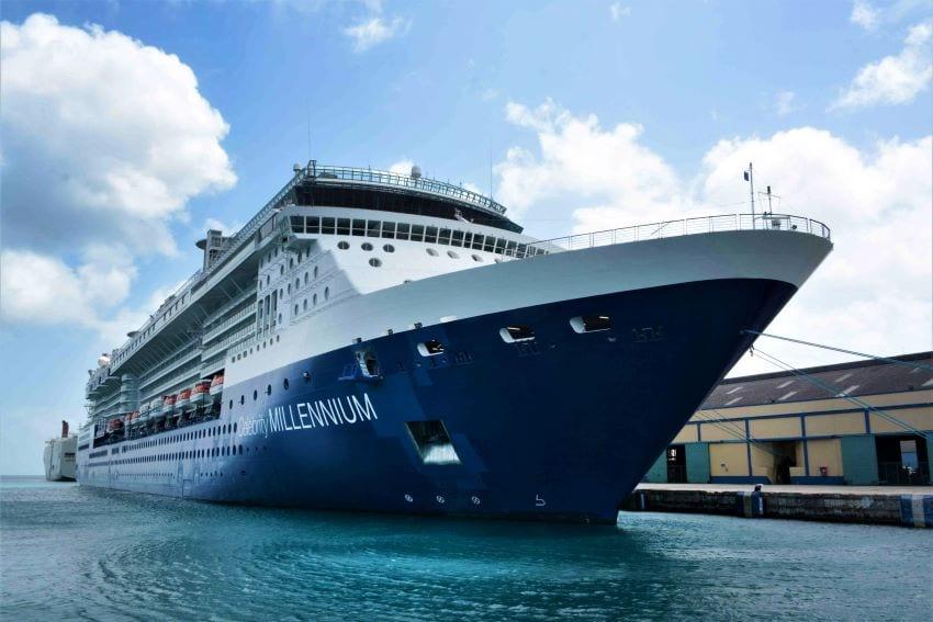 Barbados Welcomes Celebrity Millennium Cruise Ship
