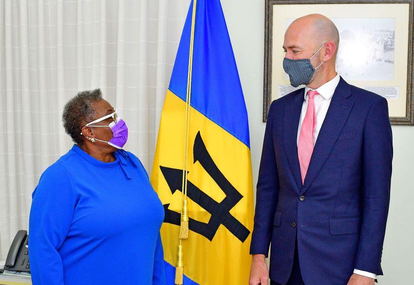 Ambassador Thompson Meets British Envoy