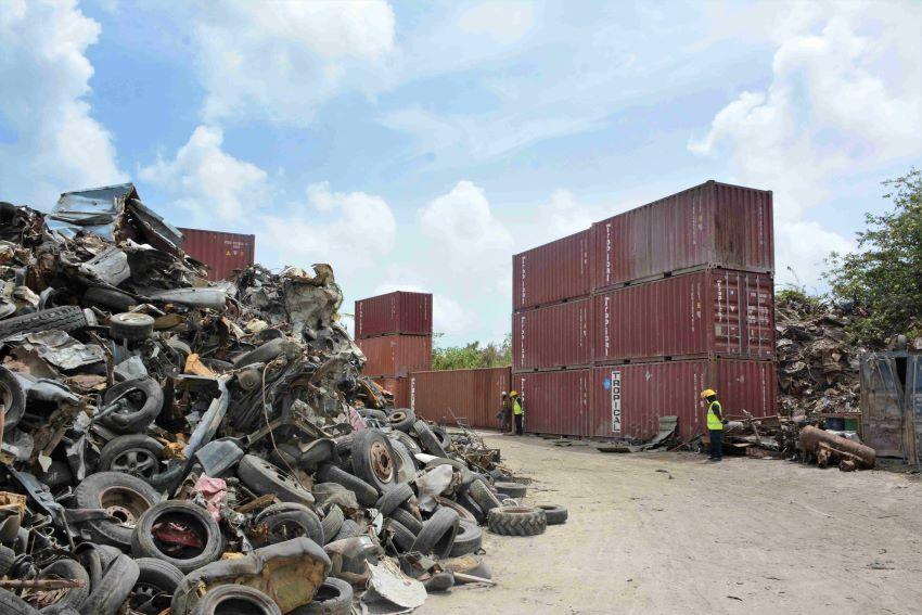 B's Recycling Plant Not Receiving Metal